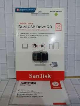 Flashdisk Otg SANDISK 64gb Usb 3.0