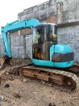 Mini excavator Kobelco sk75ur build up 2013