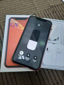 Iphone xr coral 64gb mulus terawat all operator aman