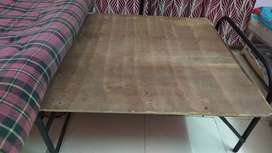 Folding bed (ply) with 15 kg gadda