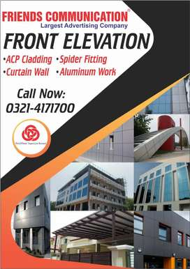 Front,Facia,Facade,0Wall,Cladding,Glass,Partition,Curtain,ACP,Sheet,