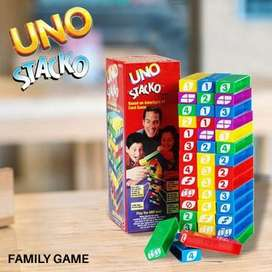 uno stacko tower balok susun
