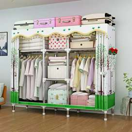 Cupboards for plenty of clothes