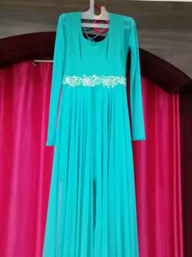 Custom Design Party Wear Ladies Long Dress