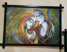 Wall hanging painting