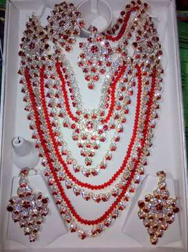 Bridal heavy jewellery in cheap rate