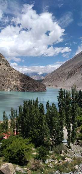 12 Kanal Commercial Plot for Sale on the Bank of Attabad Lake
