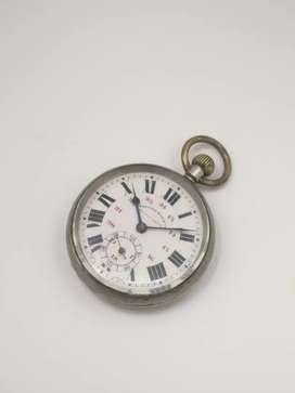 ANTIQUE West end Railway services Pocket watch