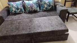 Sofa cum bed , lounger
