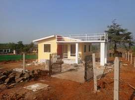 5000 Sq Fts Plot with 500 Sq Fts 1BHK Bungalow for sale