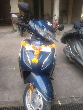 Honda active 6G delux with 0 km used