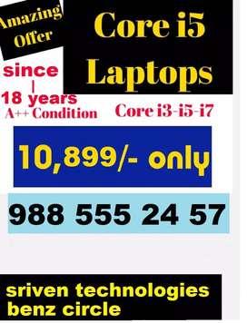 i5 laptops low price - SRIVEN TECHNOLOGIES benz circle vijayawada