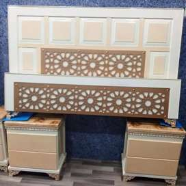 Bed, Side Tables, Dressing Table Full Set.