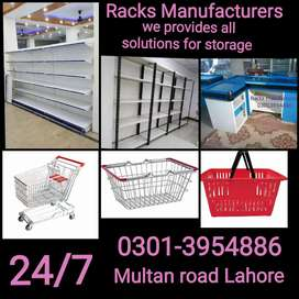Euro store racks available