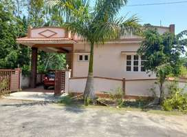 2 Bedroom Semi furnished house available for rent in a gated community