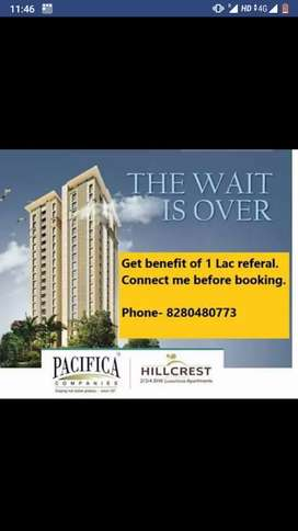Pacifica Hillcrest new booking 1 lac discount offers