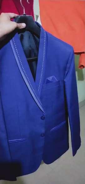 Brand New Royal Blue Coat Pant