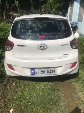 """Willing sell """"I10 Grand Sports"""" White Colour."""