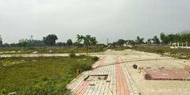 Plot for resale in fully developed township.