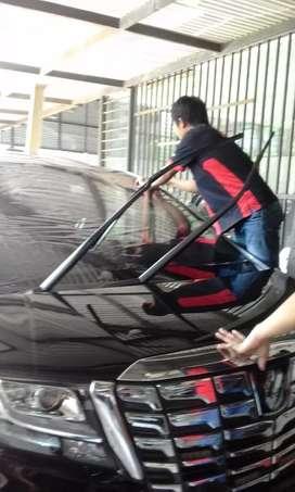 Pasang kaca film black series per mobil ful cuman 275rb monggo merapat