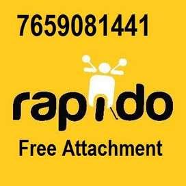 Rapido Daily Payment Bike Auto Car Attachment Free