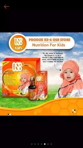 OSB Kids - Omar Smart Brain Sirup Rasa Jeruk ORIGINAL