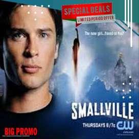 DVD Film Smallville 1 sampai 10 Lengkap