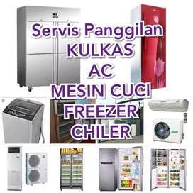 Servis Panggilan Kulkas , AC , Mesin Cuci , Water heater