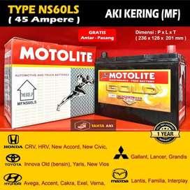 Aki Kering Innova MT Bensin Free Delivery