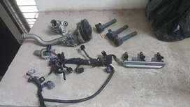 Honda nwagon n one nbox life coil over injectos waterbody complete