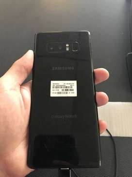 Samsung galaxy Note 8 available with Cash on Delivery