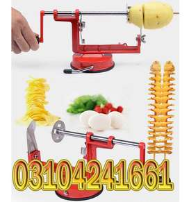 Spiral Potato Slicer either rigid or flexible. The most common materi