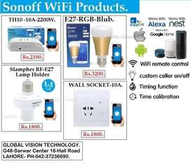 Sonoff WiFi Products