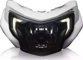 Apache 200 headlight full set