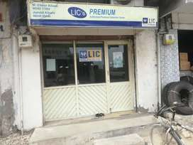 Semi Furnished Offices on main road on rent basis only.