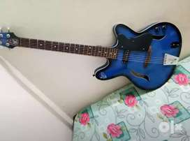 Signature Semi Electric Slim Guitar ( Blue Color)