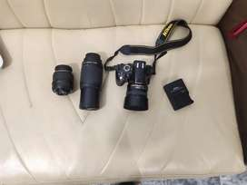D3200 With 2 lenses