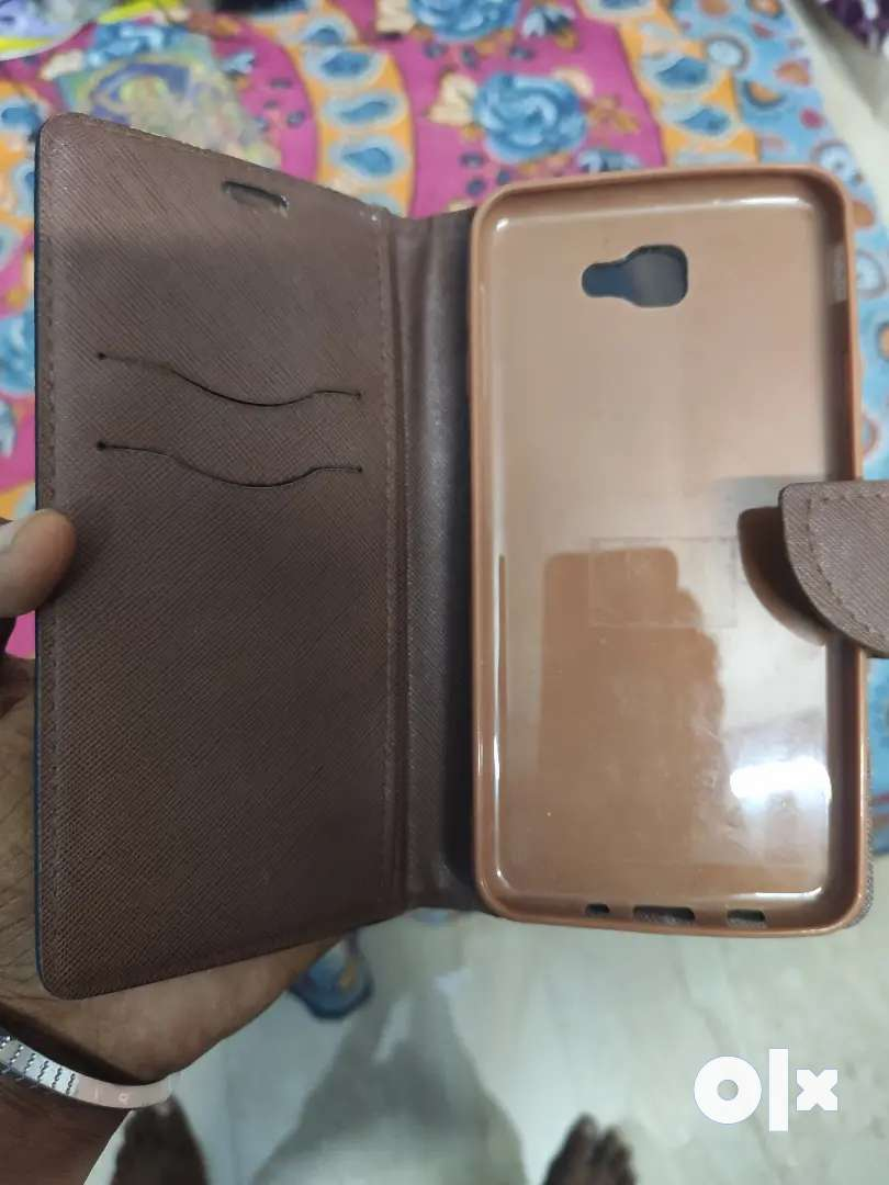 Samsung on nxt gold back case flip cover 0