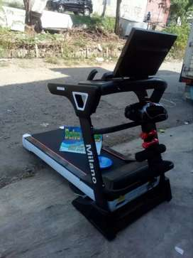 Treadmill elektrik Milano barcode ggh336