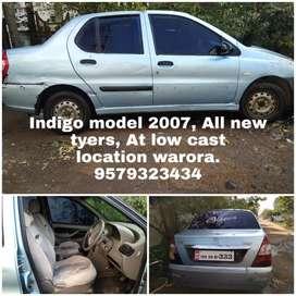 Tata Indigo 2007-TDI Diesel All tayers are new. under warranty battery