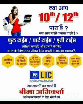 Become LIC Insurance Advicer(Agent) and upto 30-40k Ruppes Monthly