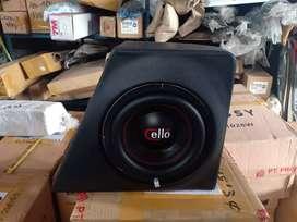 Promo Subwoofer 8inc CELLO lengkap Box OEM buat Innova Reborn