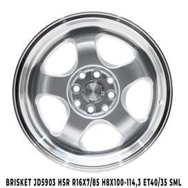 model velg JD5903 HSR R16X7-85 H8X100-114,3 ET40-35 SML