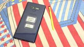 Samsung Note 9 Fullset Blue like new