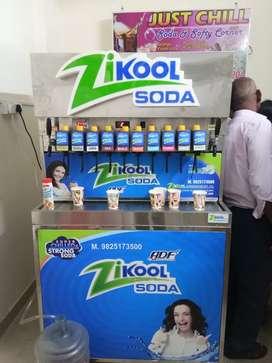 Soda Machine and Softy Machine