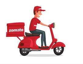 Join Zomato as food delivery partner in siliguri