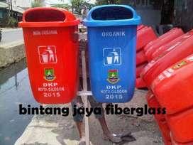tong sampah oval 2pila,bak sampah fiber,pabrik tempat sampah murah