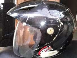 Helm halfface black