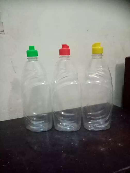 Dish wash bottles 650 ml with cap
