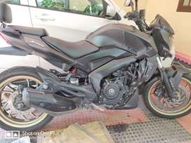 Dominar 400 2018 ABS model for sale.